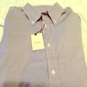 Other - NWT ALLEN RIDLEY Oxford Button up long sleeve SZ L